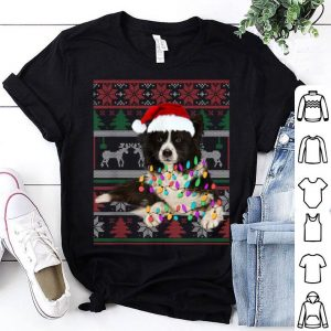 Pretty Border Collie Ugly Sweater Christmas Gift shirt