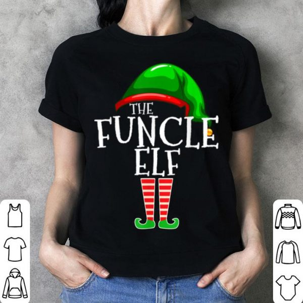 Pretty Funcle Elf Group Matching Family Christmas Gift Funny Uncle sweater