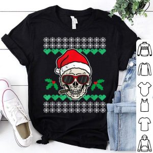 Pretty Gothic Anti Xmas Skull I Christmas Gift shirt