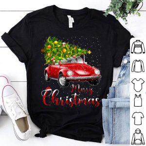 Pretty Merry Christmas Vintage Red Truck with Tree sweater