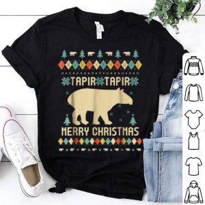Pretty Tapir Christmas, Sweater Vintage Retro sweater