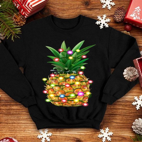 Top Hawaiian Christmas Pineapple Mele Kalikimaka shirt