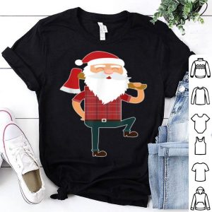 Awesome CUTE LUMBERJACK SANTA Funny Ugly Christmas Axe Hatchet sweater