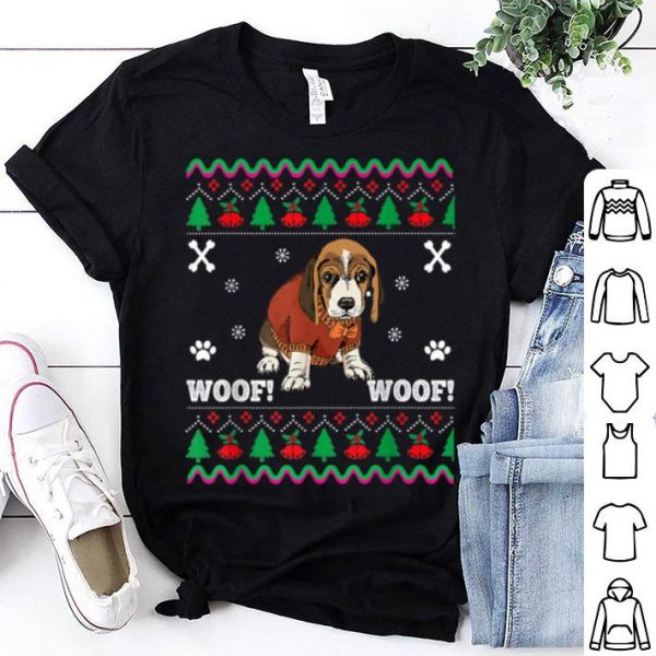 Awesome Dog Ugly Christmas Sweater Design Cute Santa sweater
