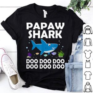 Awesome Mens Papaw Shark Doo Doo Halloween Christmas Gift sweater
