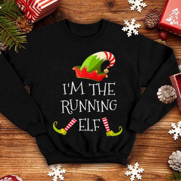 Beautiful RUNNING Elf Matching Family Group Christmas sweater