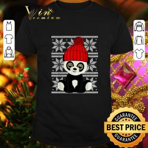 Cool Panda Santa Ugly Christmas shirt