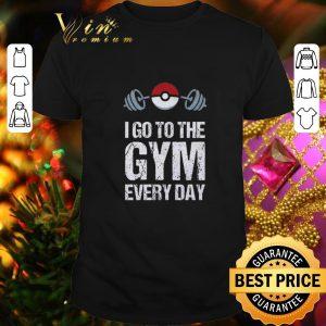 Cool Pokemon I Go To The Gym Everyday Christmas shirt