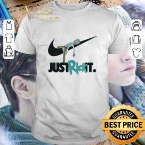 Cool Rick and Morty Nike just Rick it shirt