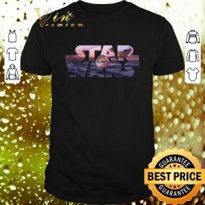 Cool Star Wars The Mandalorian Razor Crest Floating Pod Logo shirt