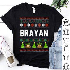 Nice Brayan Christmas Family Ugly Christmas sweater
