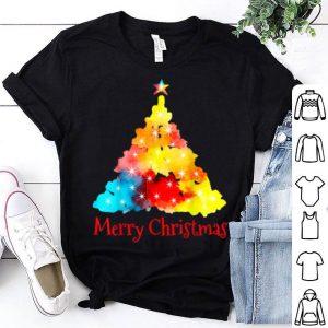 Nice Cute Colorful Christmas Tree Xmas Family Holidays Gift Tee sweater