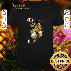 Nice NBA Los Angeles Lakers Kobe Bryant Champion signature shirt
