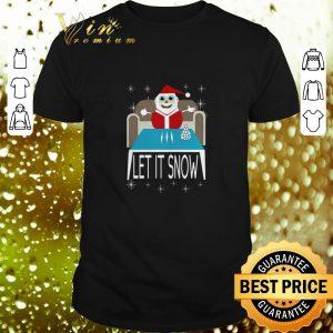 Nice Santa Walmart Cocaine Let It Snow Christmas shirt