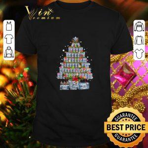 Official Busch Light beer Christmas Tree shirt