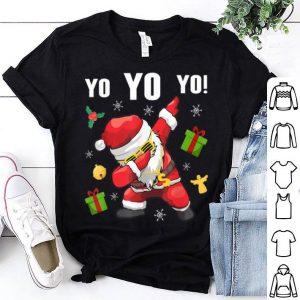 Official Dabbing Santa Claus Funny Yo Yo Yo Christmas Gifts For Xmas sweater