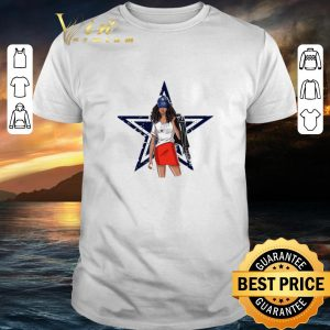 Official Dallas Cowboys girl fan shirt