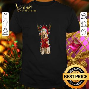 Official Golden Retriever Reindeer Christmas shirt