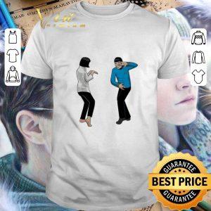Official Spock Fiction Star Trek and Pulp Fiction shirt