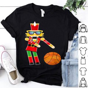 Premium Christmas Basketball Flossing Nutcracker Gifts sweater