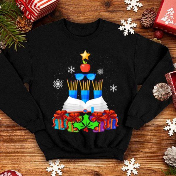 Premium Funny Teacher Christmas Tree Decor Gift Xmas Stockings sweater