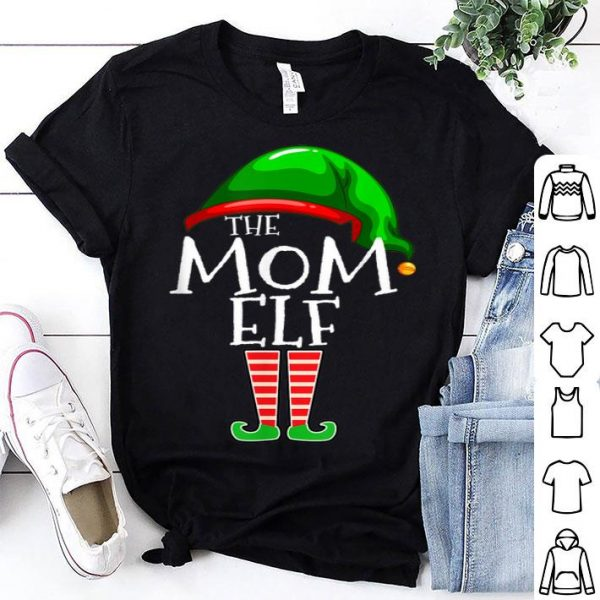 Premium The Mom Elf Family Matching Group Christmas Gift Mommy sweater