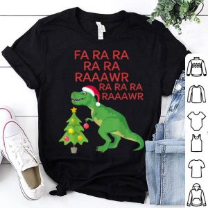 Pretty Funny T-Rex Christmas Fa Ra Ra Raawr Dinosaur Men Women Gift sweater