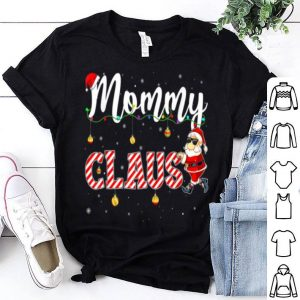 Top Cute Christmas Mommy Santa Hat Gift Matching Family Xmas sweater