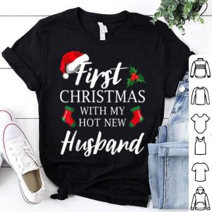 Top First Christmas With My Hot New Husband Funny Couples 2019 sweater