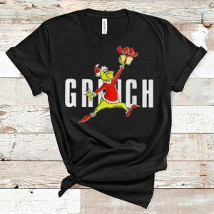Top Grinch Santa Slam Dunk Christmas shirt