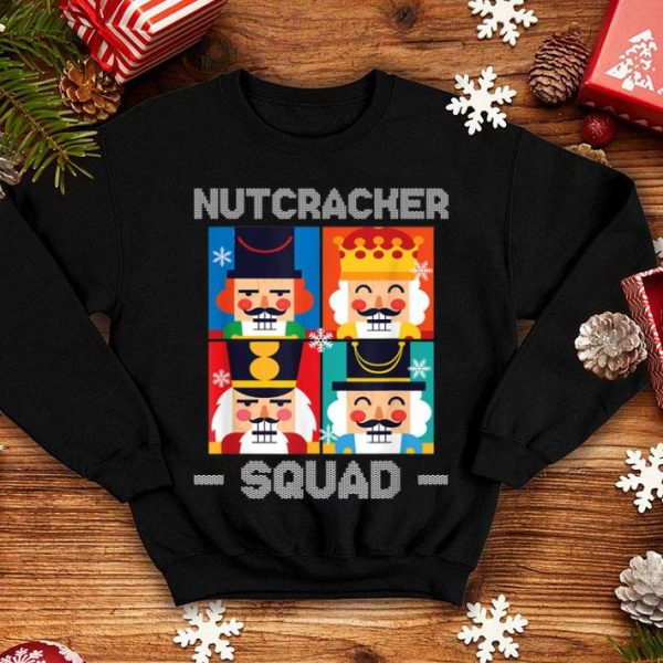 Top Nutcracker Squad Funny Christmas Holiday Gift sweater