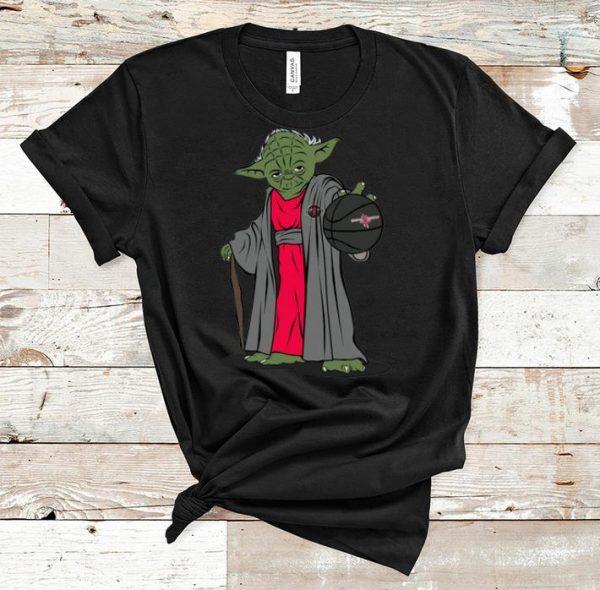 Hot Master Yoda Basketball Houston Rockets shirt
