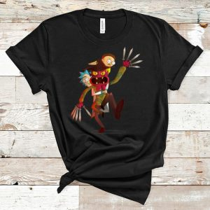 Official Rick And Morty A Nightmare On Scary Street shirt