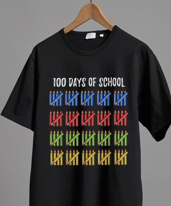 Original 100 Days Of School Pencil shirt