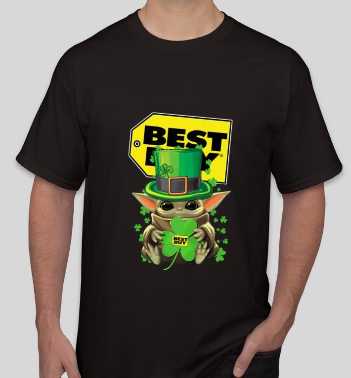 Awesome Baby Yoda Best Buy Shamrock St Patrick s Day shirt 4 - Awesome Baby Yoda Best Buy Shamrock St.Patrick's Day shirt