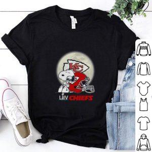 Cool Snoopy Hug Super Bowl LIV Kansas City Chiefs shirt