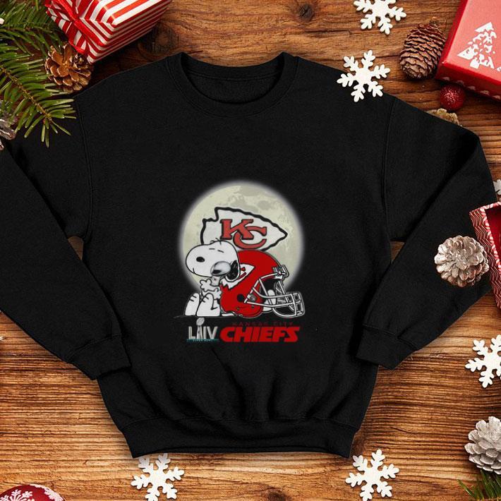 Cool Snoopy Hug Super Bowl LIV Kansas City Chiefs shirt 4 - Cool Snoopy Hug Super Bowl LIV Kansas City Chiefs shirt
