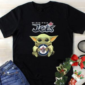 Funny Winnipeg Jets Mashup Baby Yoda Star Wars shirt