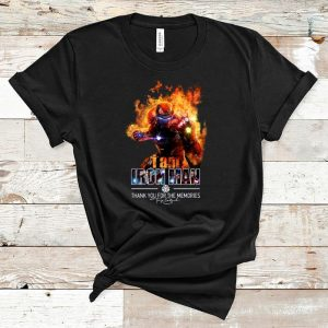 Great I Am Iron Man Thank You For The Memories Signature shirt
