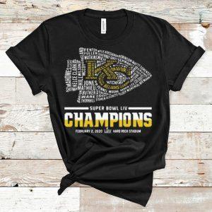 Great Kansas City Chiefs Super Bowl Liv Champions Hard Rock Stadium shirt
