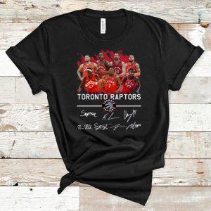 Hot Toronto Raptors Players Signatures shirt