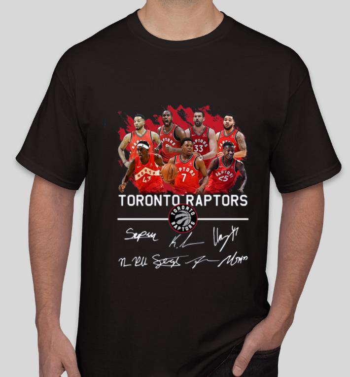 Hot Toronto Raptors Players Signatures shirt 4 - Hot Toronto Raptors Players Signatures shirt