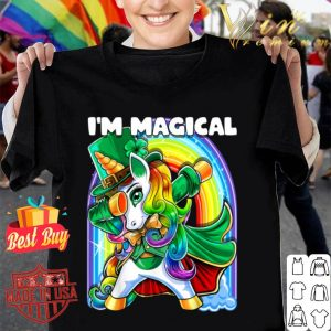 I'm Magical St. Patrick's Day Dabbing Unicorn Leprechaun shirt