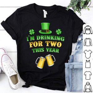 Nice Pregnancy Announcement St Patricks Day For Women shirt