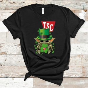 Nice Star Wars Baby Yoda TSC Stores Shamrock St. Patrick's Day shirt