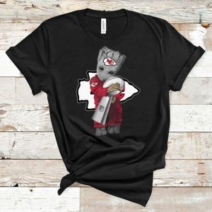 Official Baby Groot Hug Super Bowl Champions Kansas City Chiefs shirt