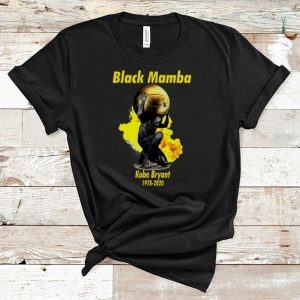 Official Black Mamba Kobe Bryant 1978-2020 Nike shirt