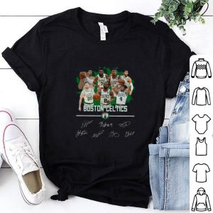 Official Boston Celtics players legends Signatures shirt