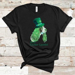 Official Irish Cocker Spaniel St. Patrick's Day shirt