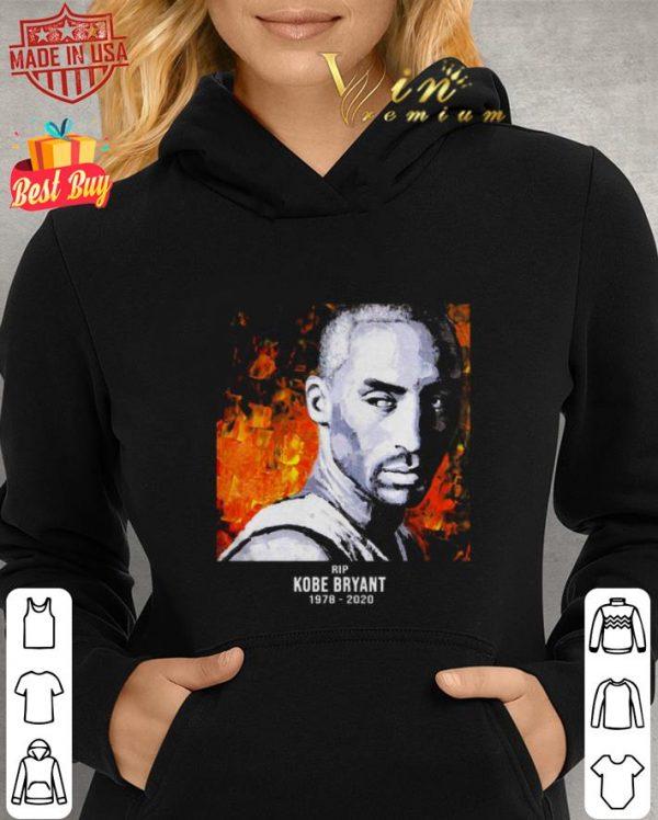 Official Rip Kobe Bryant 1978-2020 art oil paint shirt